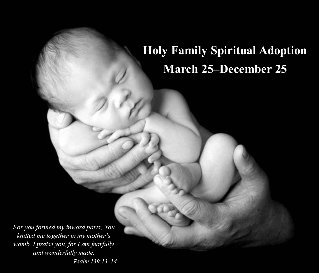 Holy Family Spiritual Adoption